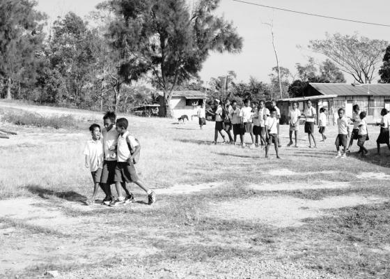Timor Leste school