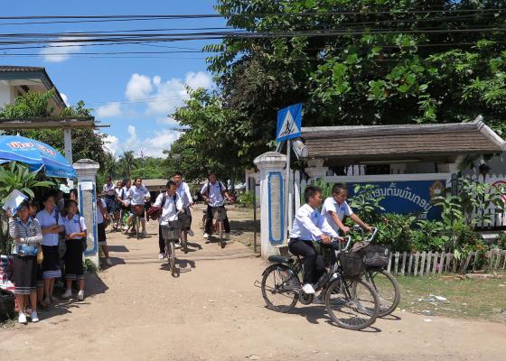 Laos bikes